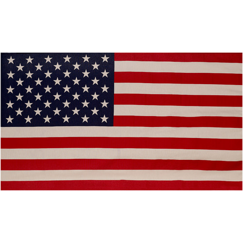 U.S. Banner Flag 2.5ft x 4ft Polycotton by Valley Forge