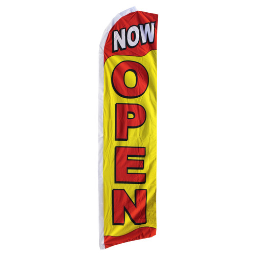 Now Open Swooper Flag