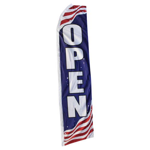 Open Swooper Flag - Patriotic
