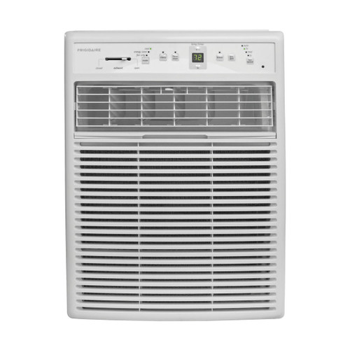 8,000 BTU 115V Slider/Casement Room Air Conditioner with Full-Function Remote Control, White