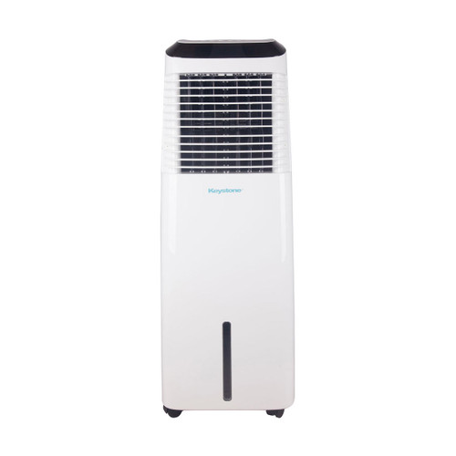 30-Liter Indoor Evaporative Air Cooler (Swamp Cooler) with WiFi Function in White