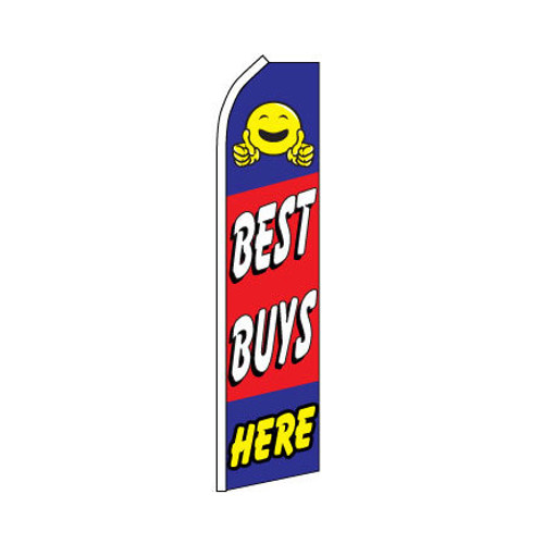 Best Buys Here Swooper Flag