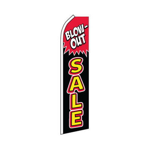Blow Out Sale Swooper Flag