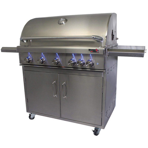 "DragonFire 40"" Gas Grill on cart"