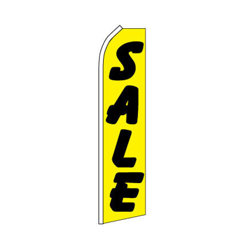 Sale Swooper Flag - Yellow