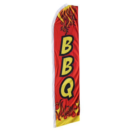 BBQ Swooper Flag - Red
