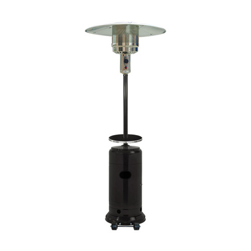 7-Ft. 41,000 BTU Steel Umbrella Propane Patio Heater in Black