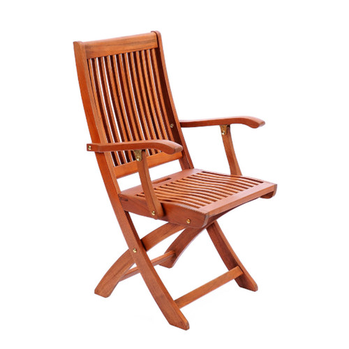 Folding Dining Chair With Arms