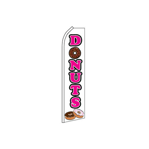 Donuts Swooper Flag