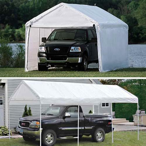 ShelterLogic 10' x 20' Max AP 8-Leg 2-in-1 Enclosed Canopy