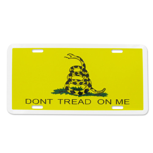 Gadsden License Plate - Dont Tread On Me
