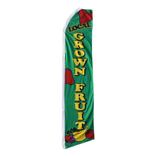 Local Grown Fruit Swooper Flag
