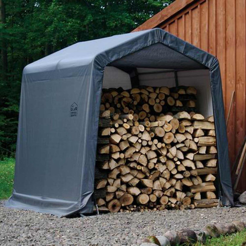 ShelterLogic 8' x 8' x 8' Shed-in-a-Box Heavy-Duty Storage Shed
