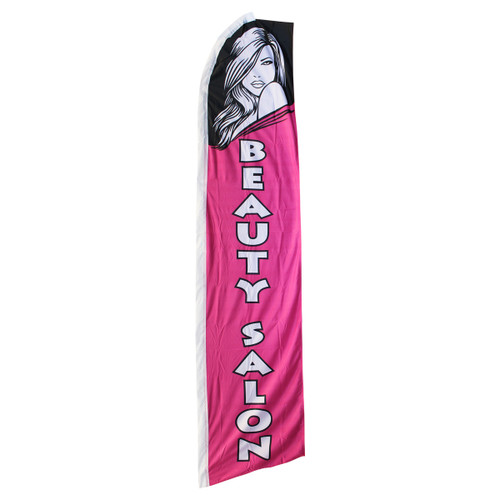 Beauty Salon Swooper Flag