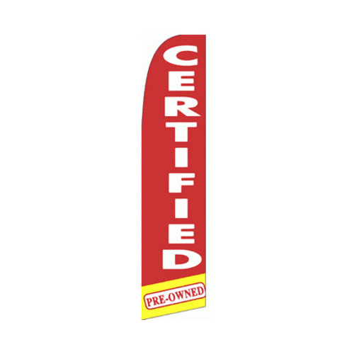 Certified Pre-Owned Swooper Flag