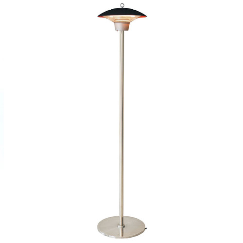 Electric Halogen Infrared Stand Heat Lamp- Black