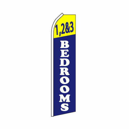 1 2 & 3 Bedrooms Swooper Flag