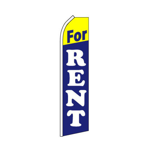 For Rent Swooper Flag