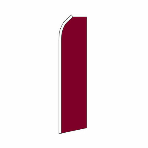 Burgundy Swooper Flag
