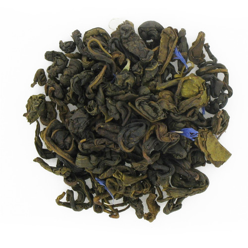 Blueberry Flavored Green Tea - Loose Leaf