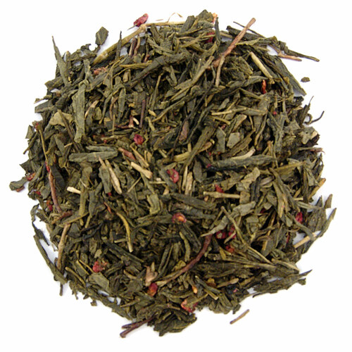 Bohemian Raspberry Green Tea - Loose Leaf
