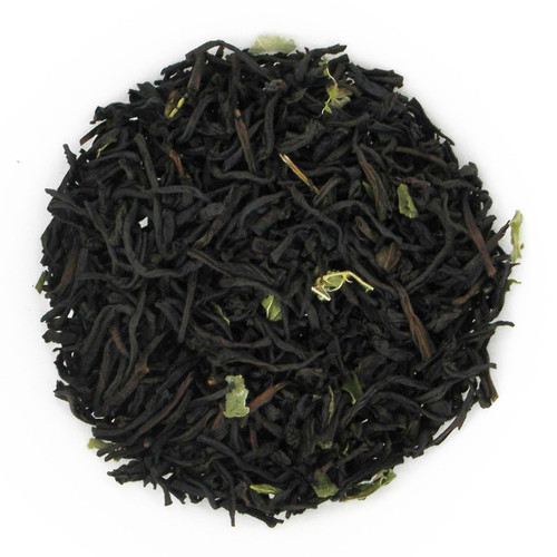 Chocolate Mint Flavored Black Tea - Loose Leaf