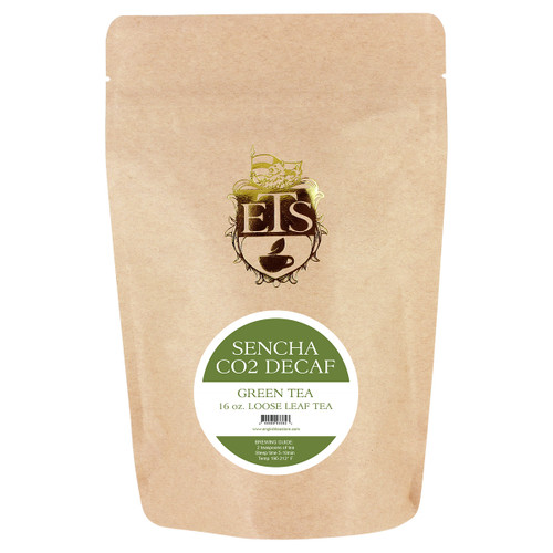Sencha CO2 Decaf Green Tea - Loose Leaf