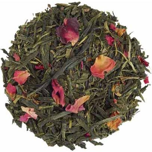 Organic Sencha Kyoto Cherry Rose Festival Green Tea - Loose Leaf