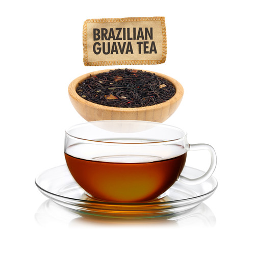 Brazilian Guava Tea  - Loose Leaf - Sampler Size - 1oz