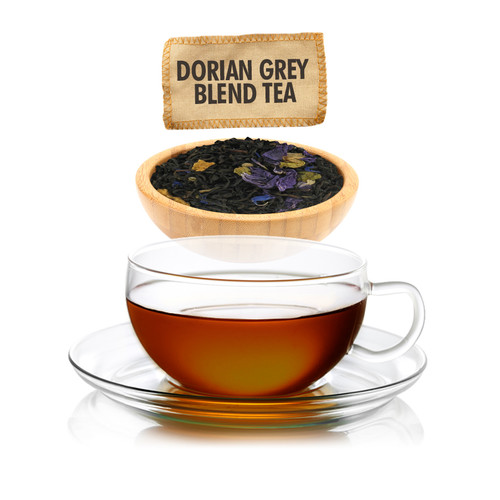 Dorian Grey Blend Tea - Loose Leaf - Sampler Size - 1oz