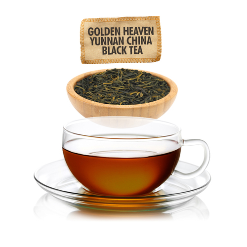 Golden Heaven Yunnan Tea - Loose Leaf - Sampler Size - 1oz