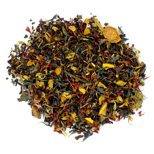 Ginger Turmeric -Wellness Tea - Loose Leaf Tea - Sampler Size - 1oz