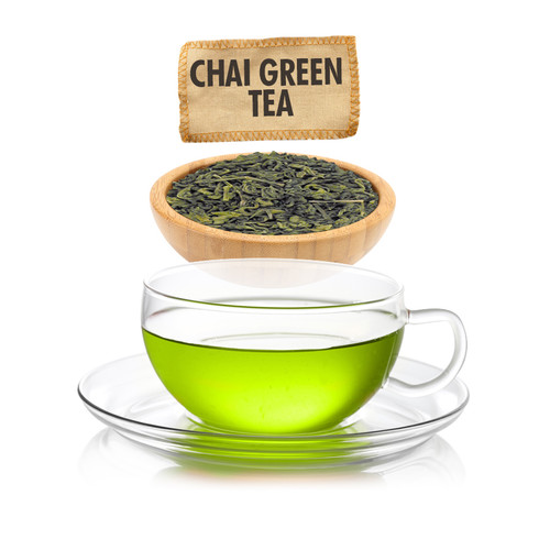 Chai Green Tea  - Loose Leaf - Sampler Size - 1oz