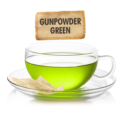 Pinhead Gunpowder Green Tea  - Loose Leaf - Sampler Size - 1oz