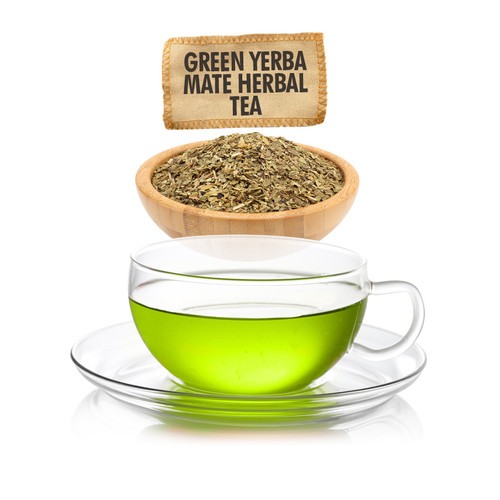 Green Yerba Mate Herbal Tea  - Loose Leaf - Sampler Size - 1oz