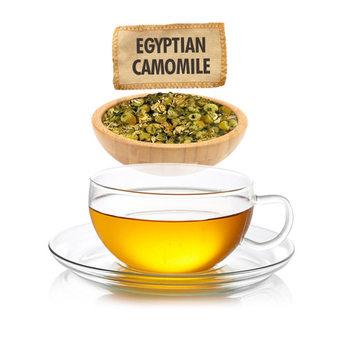Egyptian Camomile Herbal Tea - Loose Leaf - Sampler Size -  1oz