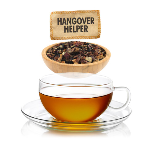 Hangover Helper Herbal Loose Leaf Tea - Sampler Size - 1oz
