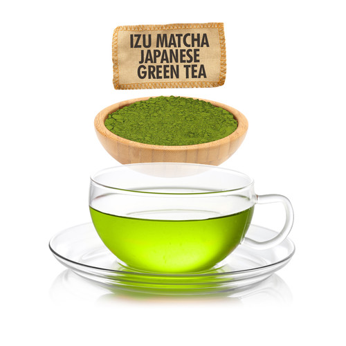 Japanese Izu Matcha Green Tea - Loose Leaf - Sampler Size - 1oz