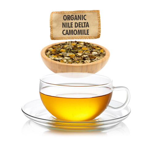 Organic Nile Delta Camomile Tea  - Loose Leaf - Sampler Size - 1oz