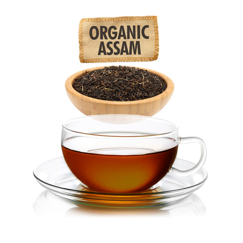 Organic Assam Tea - Loose Leaf - Sampler Size - 1oz