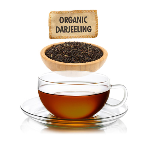 Organic Darjeeling Tea - Loose Leaf - Sampler Size - 1oz