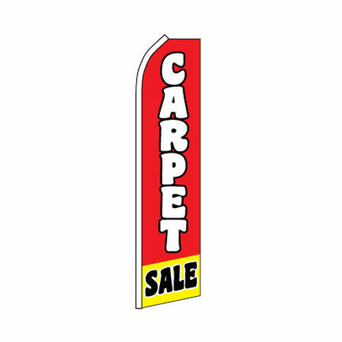 Carpet Sale Swooper Flag