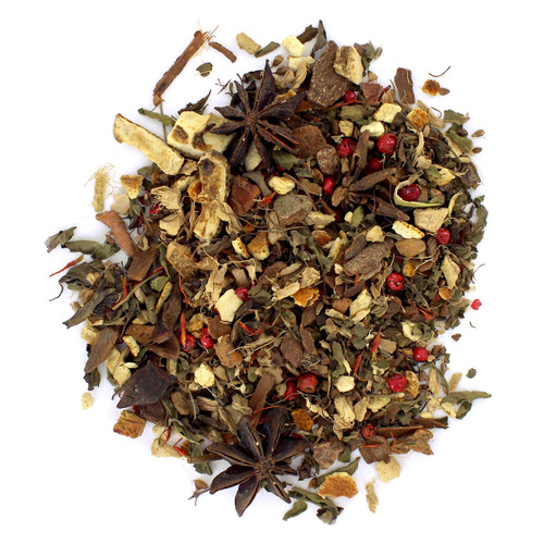Zesty Tulsi  -Wellness Tea  - Loose Leaf - Sampler Size - 1oz