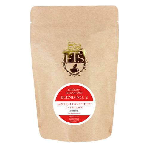 English Breakfast  Blend No. 2 Tea - Tea Bags