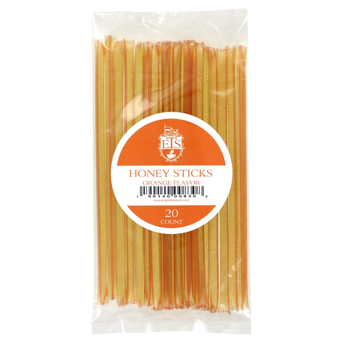 ETS Honey Sticks - Orange 20 count