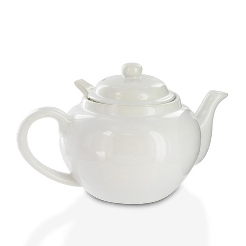 Amsterdam 2 Cup Infuser Teapot - White