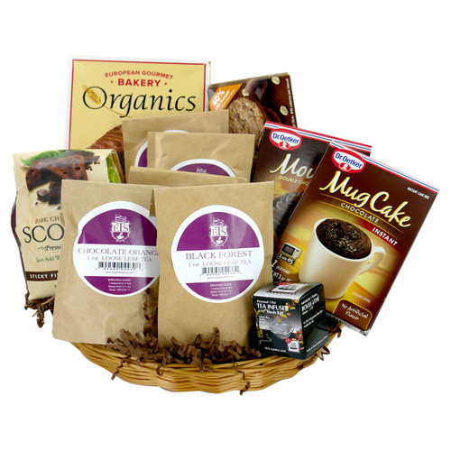 Chocolate Desserts Gift Basket