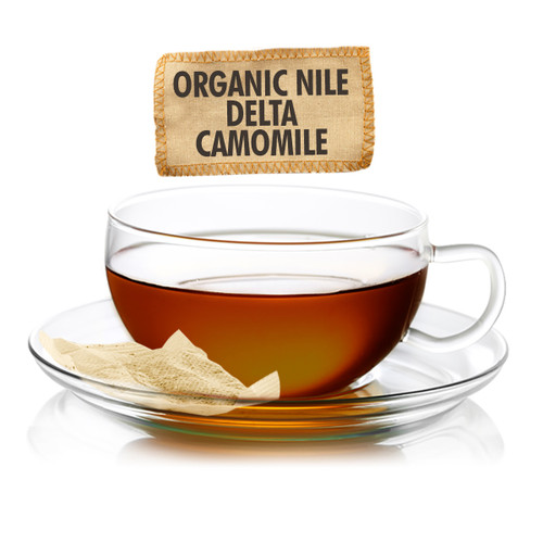 Organic Nile Delta Camomile Tea Pouch - Sampler Size - 5 Teabags