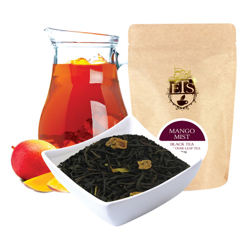 Mango Mist Flavored Black Tea - Loose Leaf