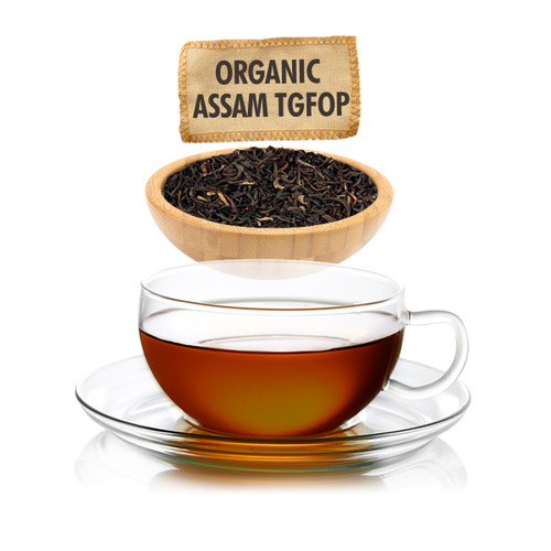 Organic Assam TGFOP Tea - Loose Leaf - Sampler Size  - 1oz